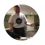 stephen, chef of The Haggis Experience